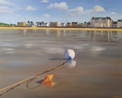 Reflets sur la plage