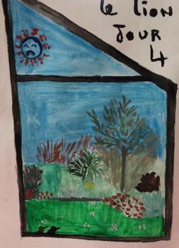 Fenêtre sur jardin, Laurence, 2020