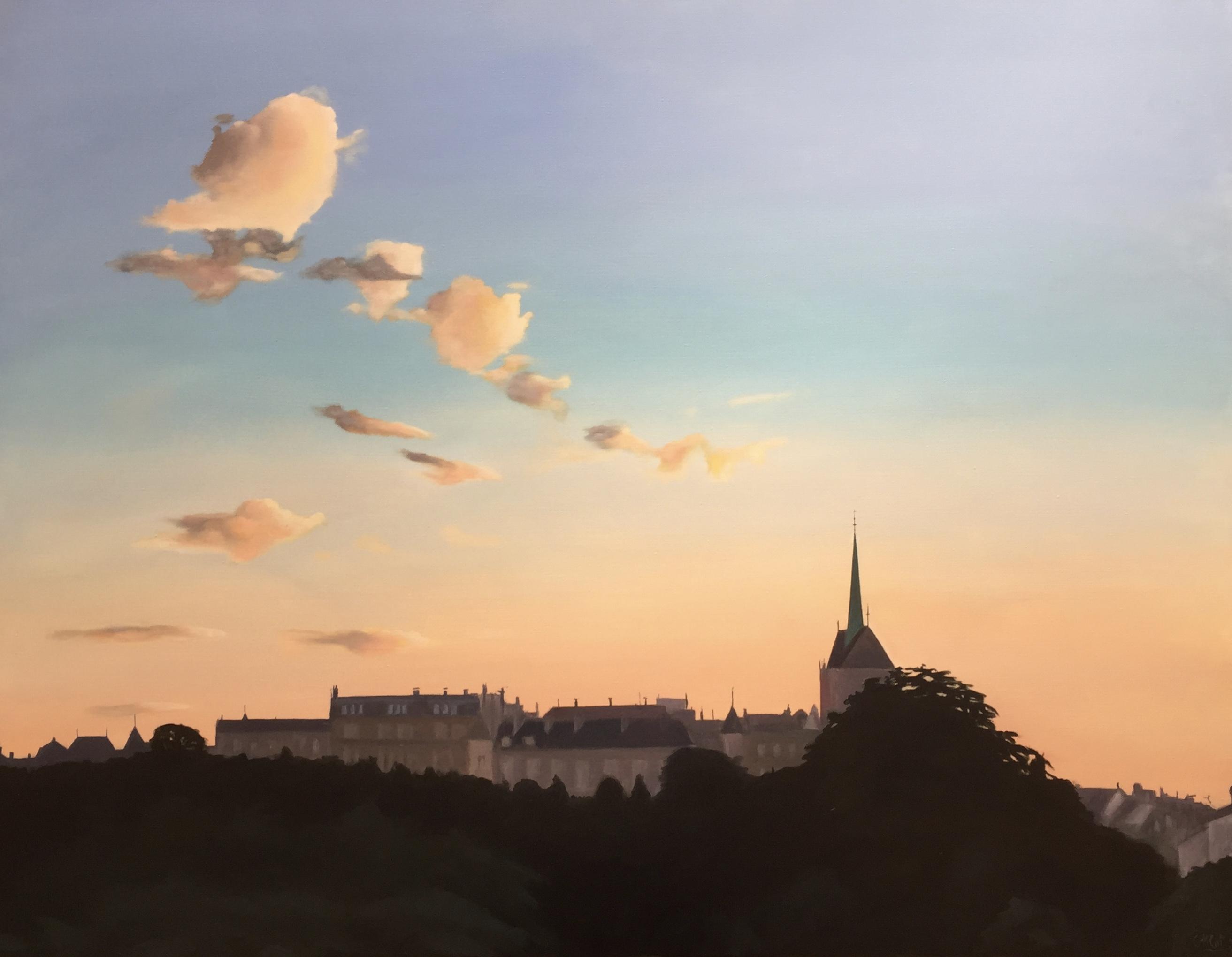 Lever de soleil sur Saint Pierre
