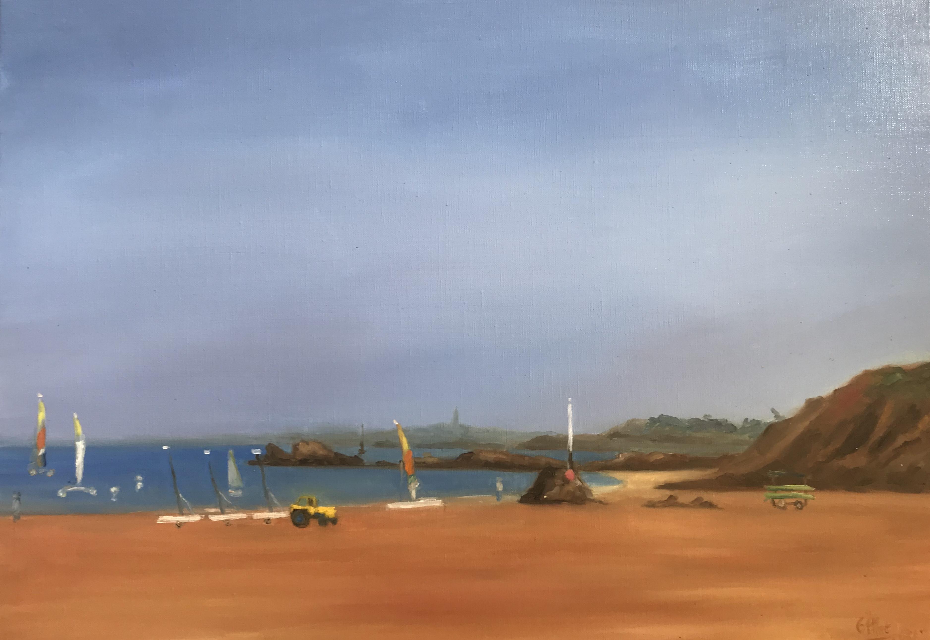Grand beau sur la plage de St Lu