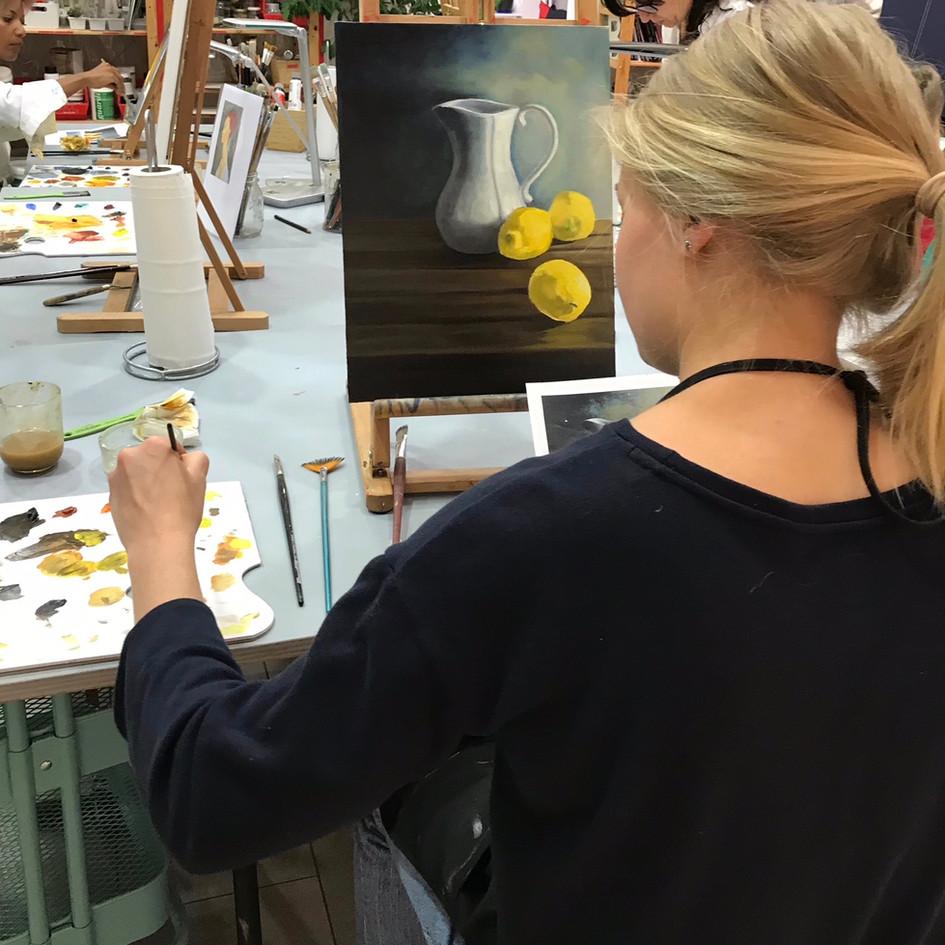 painting course geneva