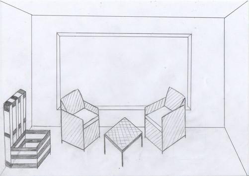 Vue de la terrasse, Sylvain, 2020