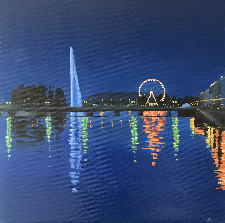 Genève la nuit II