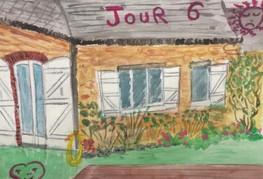 Enfermée dans le jardin, Laurence, 2020