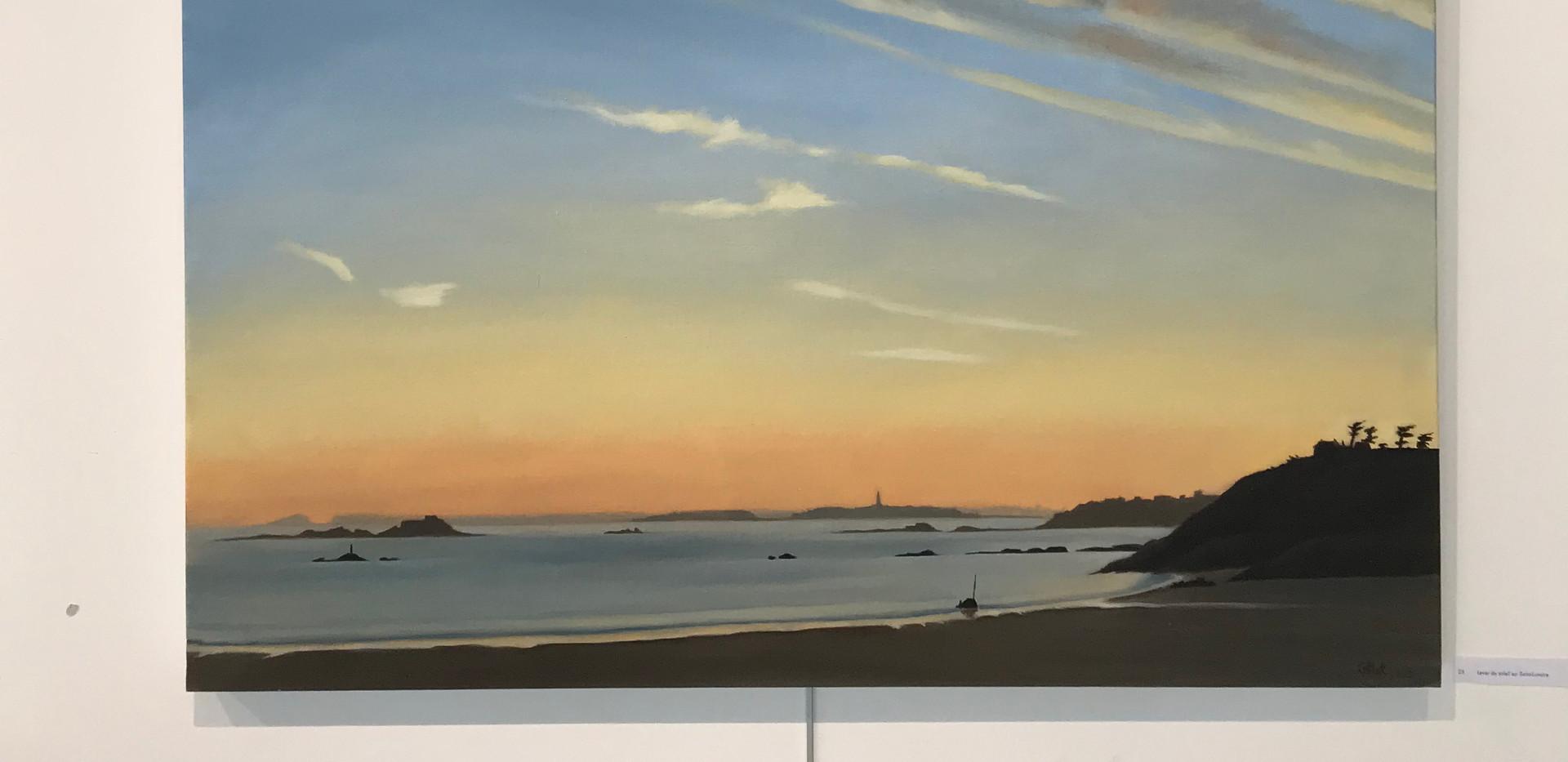 painting exhibition in Saint Briac