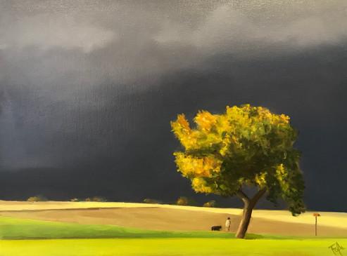 Peinture de Choulex