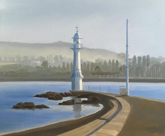 The Pâquis lighthouse