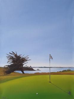Green du 14 Dinard Golf
