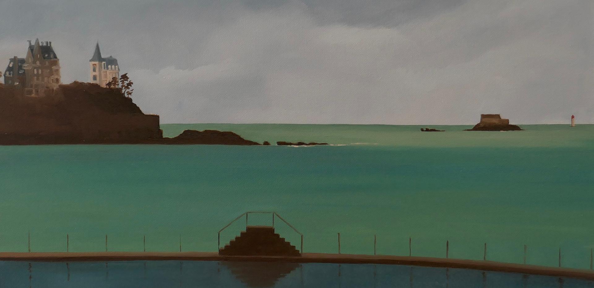 The pool of Dinard