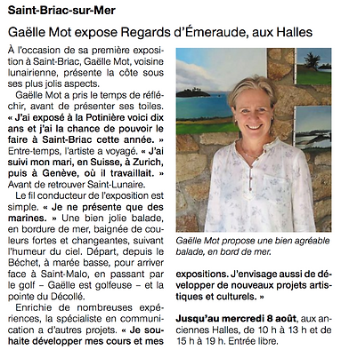 article ouest france 6 aout 2018.png