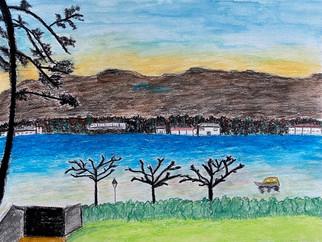 Vue sur le lac, Laure, 2020