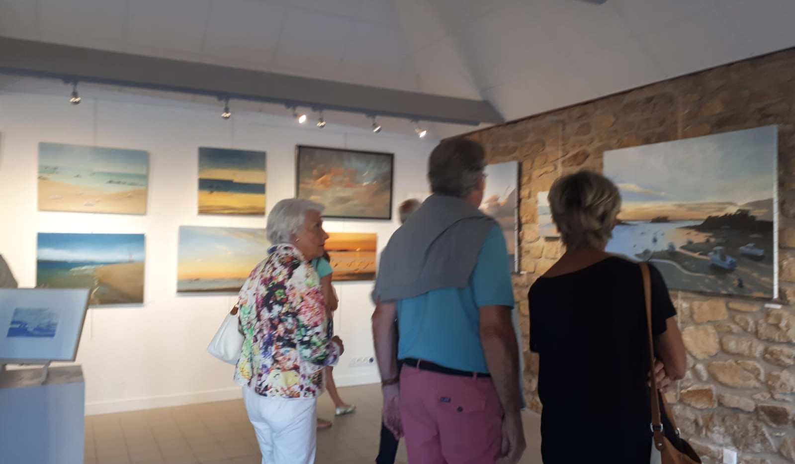 painting exhibition in Saint Briac