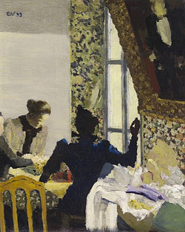 L'aiguillée, Edouard Vuillard
