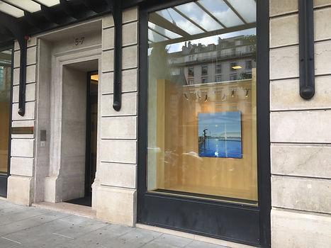 Exposition à la Banque Santander à Genève
