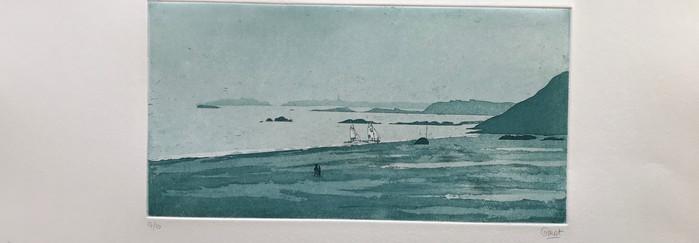 La grande plage de Saint-Lunaire
