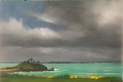 Dinard Golf dans la tempête