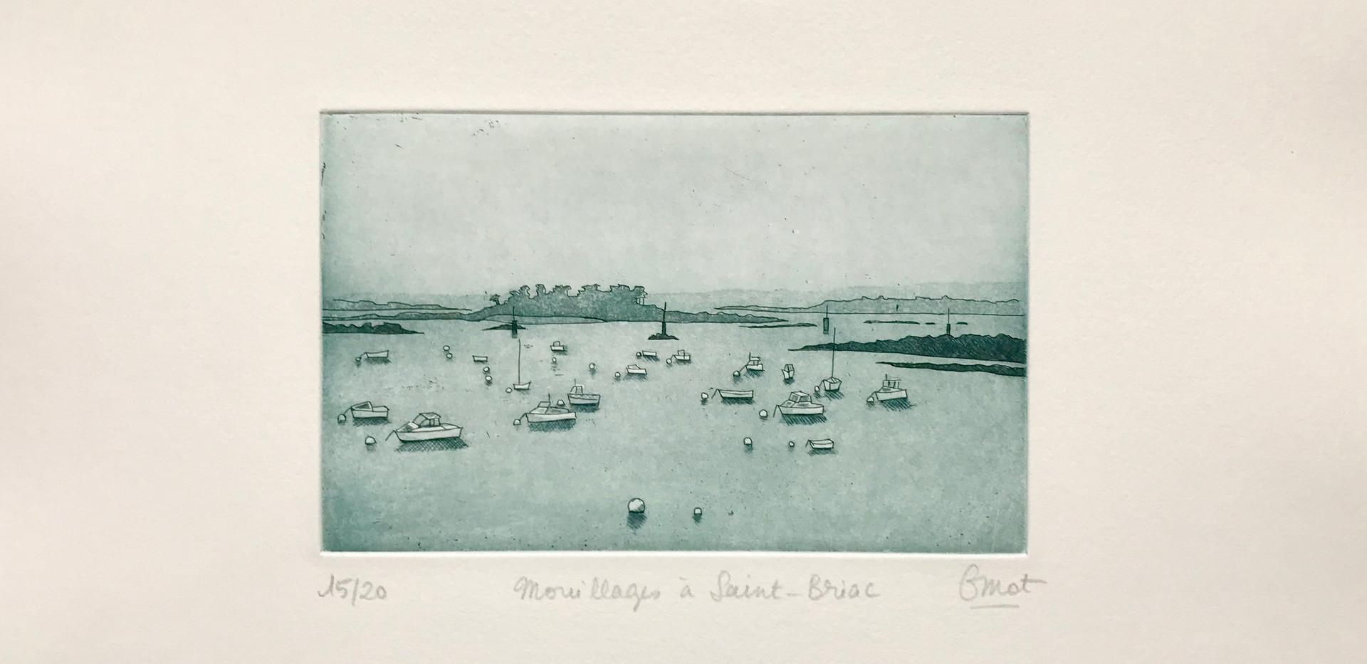 Moorings of Saint-Briac