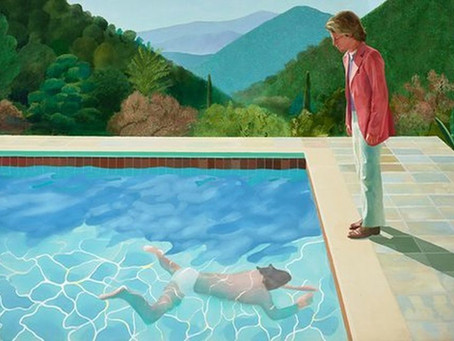 To the discovery of David Hockney, a figurative painter against the current ...