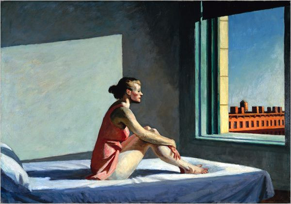 Morning sun, Edward Hopper, Columbus Museum of Art, Fondation Beyeler