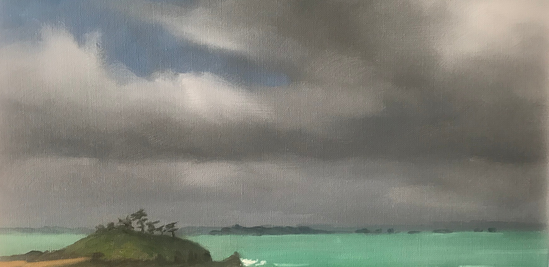 Storm on the Dinard golf