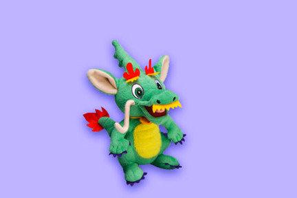 Small Happy Dragon #013
