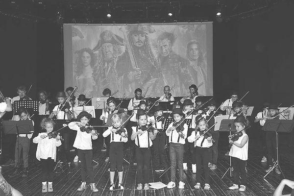 filmmuziek leerlingenconcert juli 2019