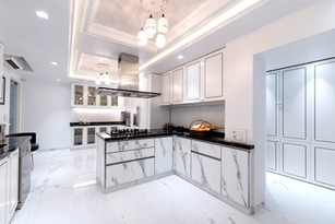 Luxuary White Kitchen