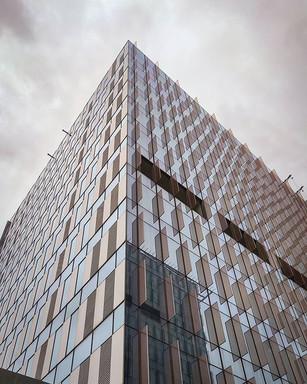 Interesting #glasswork in #highrise #arc