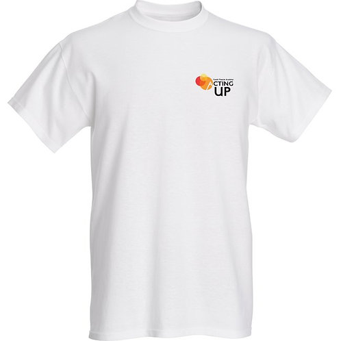 Acting Up! Youth Theatre Academy Cotton T's (Men's) Place size from ch