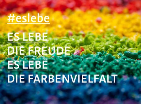 #eslebe - Es lebe die Farbenvielfalt