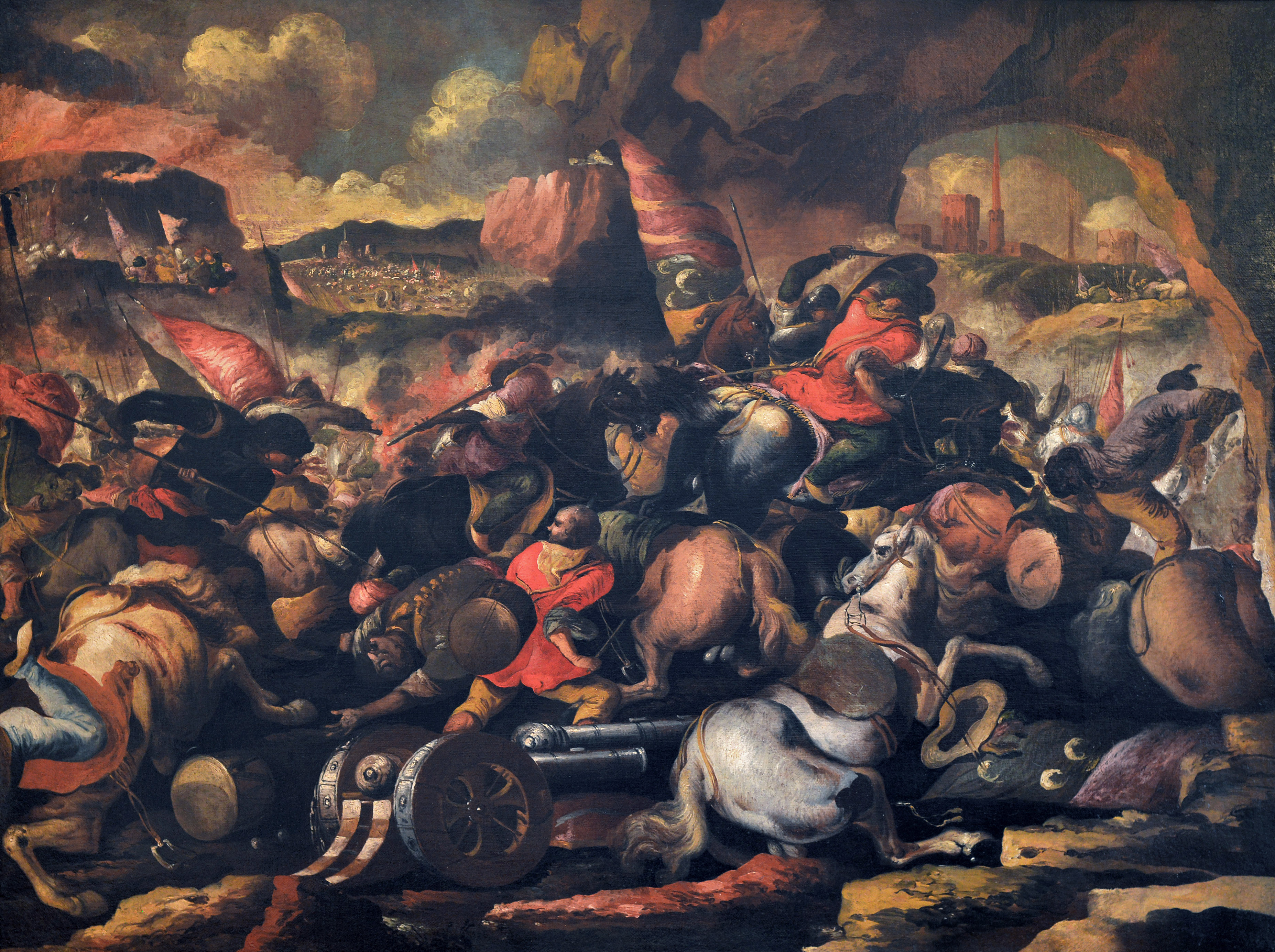 Battaglia tra cristiani e turchi