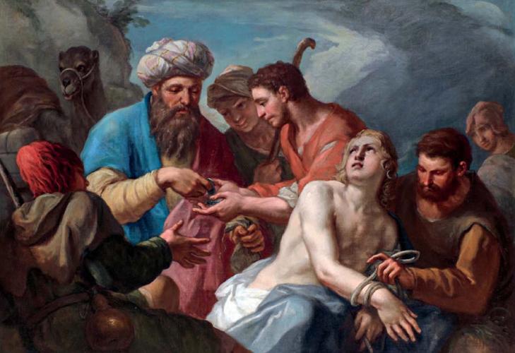 BRUSAFERRO, Girolamo - Giuseppe venduto dai fratelli