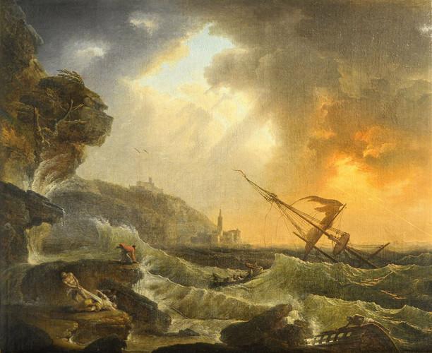 FIDANZA Francesco - Scena di naufragio