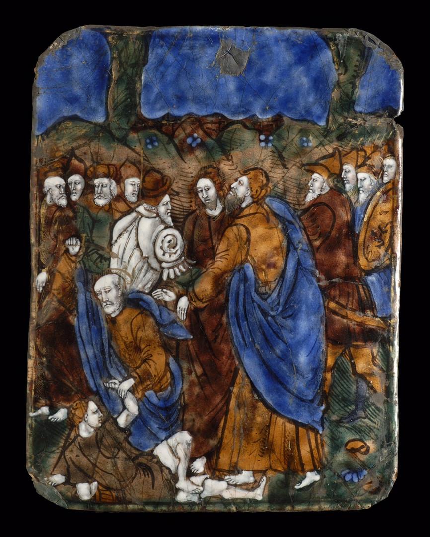 MANIFATTURA LIMOGES XVI SEC. - Cattura d