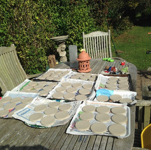 Drying the discs