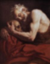 LOTH-Johann-Carl-San-Girolamo-olio-su-te
