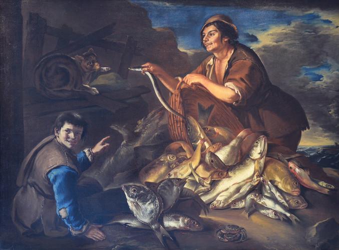 TODESCHINI (Cipper, Giacomo Francesco) - Il pescivendolo