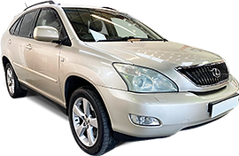 Luxury rental car