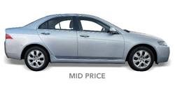 Mid Price Rental Cars