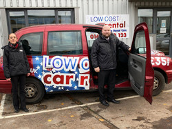 Free lift to rent a car in Mildenhall