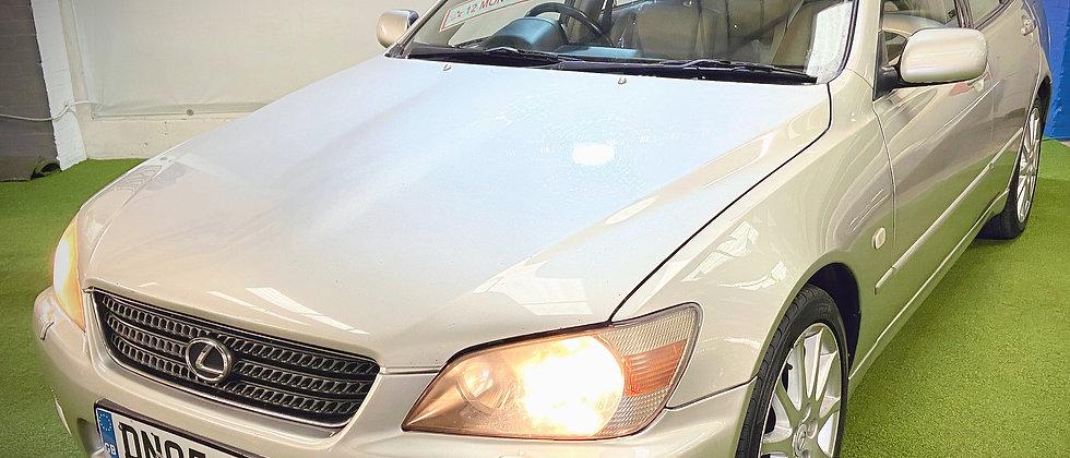 05' Lexus IS200 AUTOMATIC