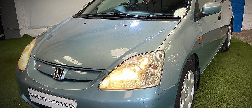 Honda Civic 1.6 i-VTEC SE Auto