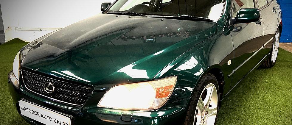 2002 Lexus IS200 Automatic