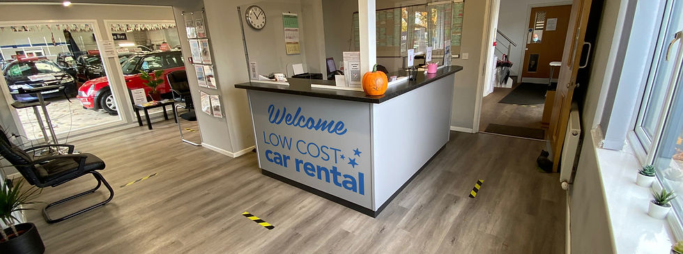 Low Cost Car Rental office