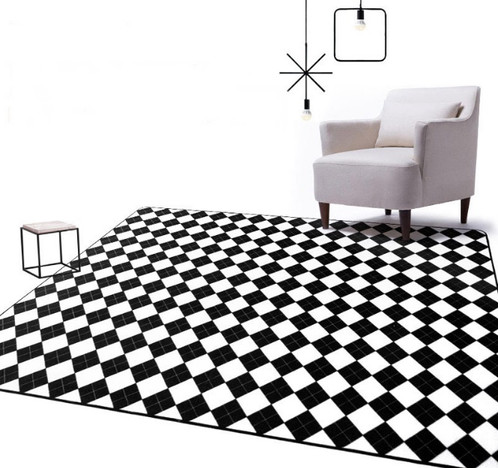 High Quality Checkered Rug
