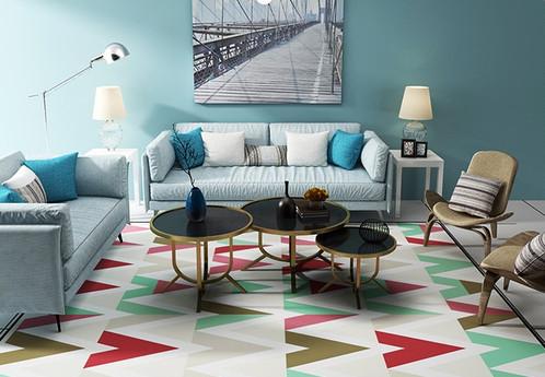 Multicolored Chevron | Home Decor | Rugs U0026 Carpets | Singapore | EL Winkel