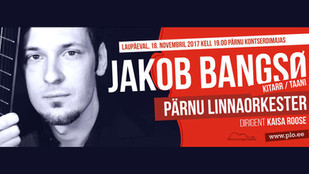 Jakob Bangsø to play Rodrigo's Concierto de Aranjuez with Pärnu City Orchestra on Friday (Nov. 18)