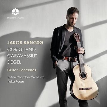 Guitar Concertos_Jakob Bangsø_cover