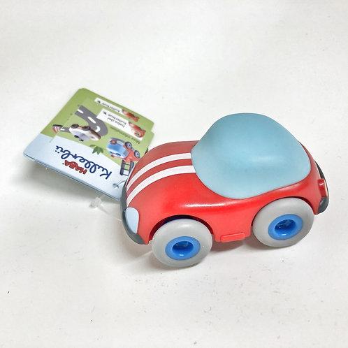 Haba Auto Kullerbü rot mit Schwungmotor