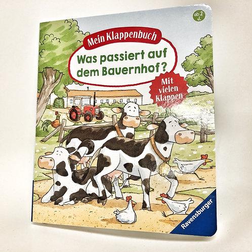 Ravensburger Klappenbuch Was passiert auf dem Bauernhof